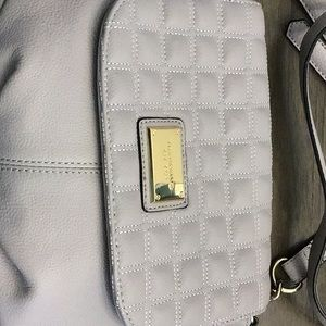 TIGNANELLO flap crossbody bag. Dove gray. NEW